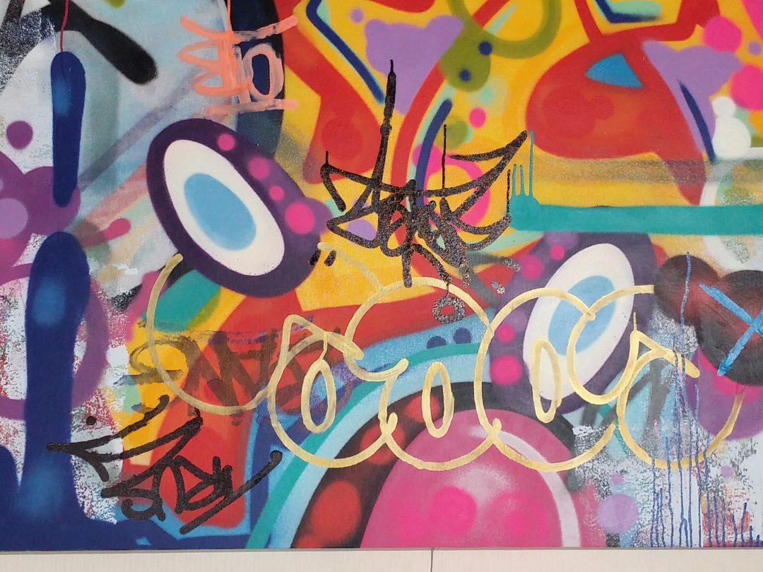 COPE2「Untitled」キャンバスにアクリルステンシル138×122cm4.jpg