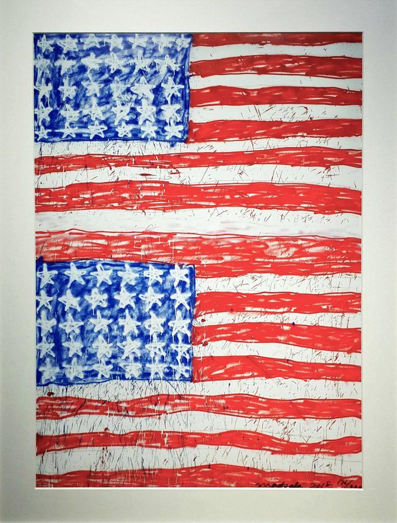 MADSAKI「Two-Flags-2P」オフセットリトグラフ67.9×49cm1.jpg