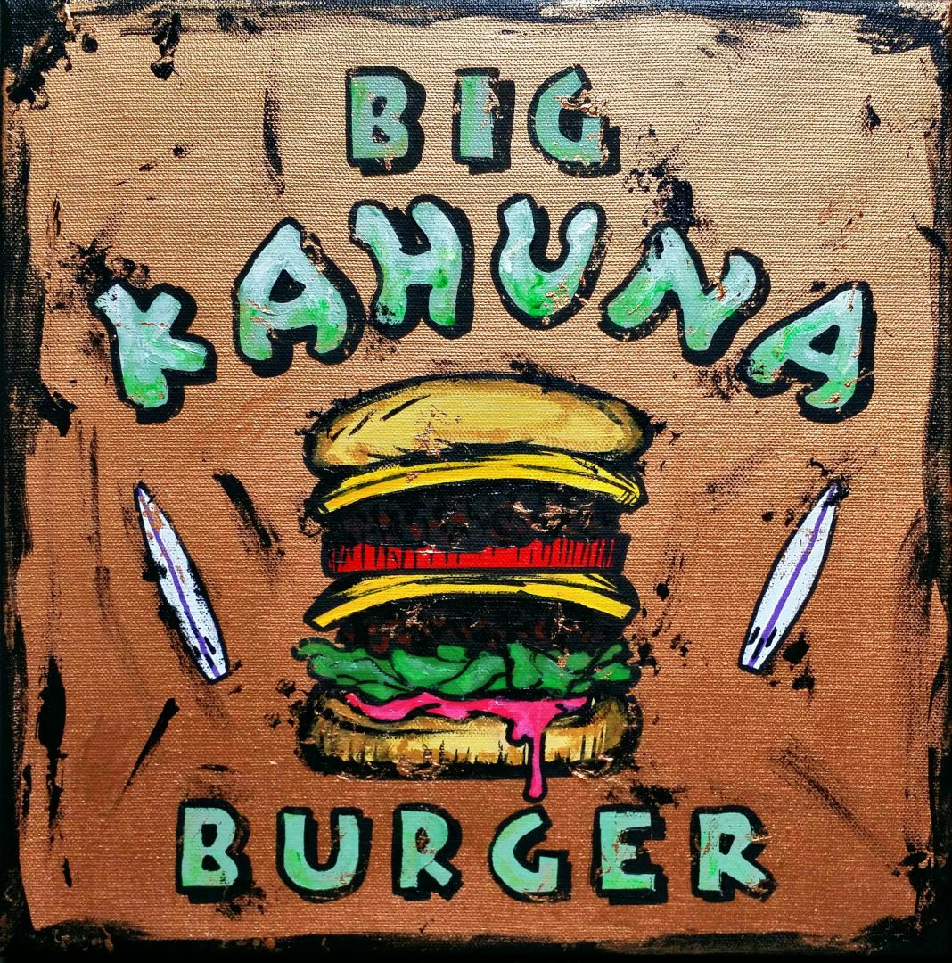 piek7「BIG-KAHUNA-BURGER」アクリル3号.jpg